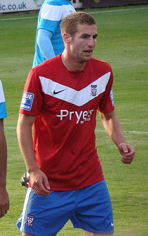 Matty Blair - Blair playing for York City in 2011