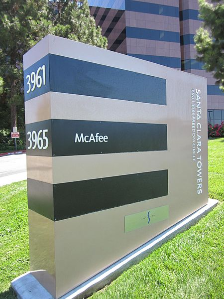 File:McAfee HQ sign.JPG