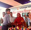 Md. Anwar Hosain Receiving Student of the Year prize from the Chairman of Chittagong Education Board.jpg