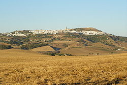 Skyline of Medina-Sidonia