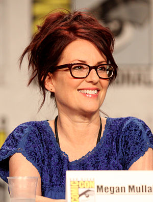 Megan Mullally at the 2011 Comic Con in San Diego