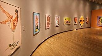 Mel Ramos -  Mel Ramos – Exhibition in Crocker Art Museum, Sacramento, 2012
