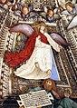 Melozzo da forlì, angeli coi simboli della passione e profeti, 1477 ca., croce 01.jpg
