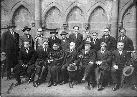 Membros do Seminario de Estudos Galegos en 1928