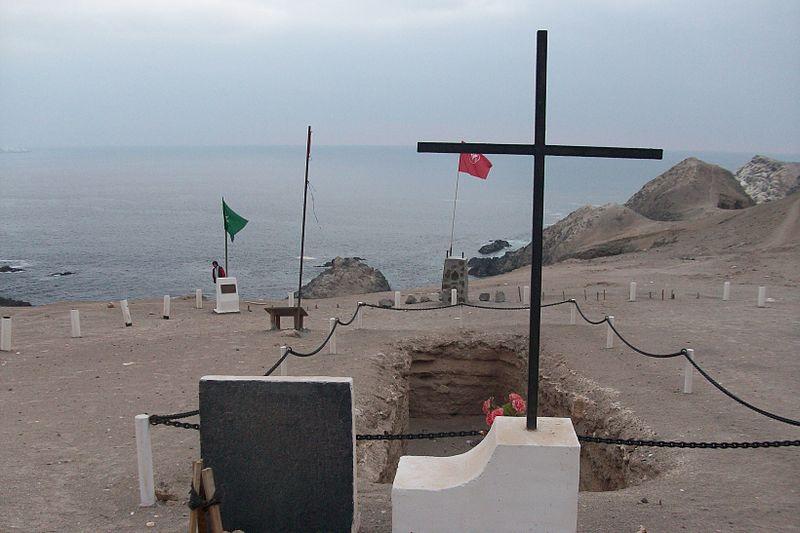 File:Memorial DDHH Chile - 01 Fosa de Pisagua.jpg