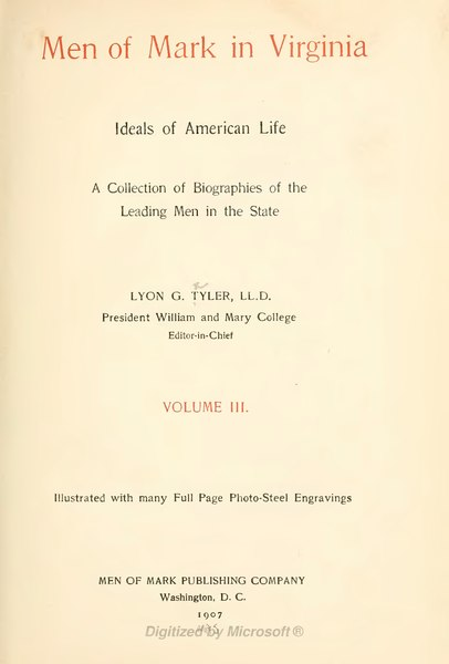 File:Men of Mark in Virginia volume 3.djvu