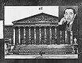 Mendes Franse met parlementsgebouw, Bestanddeelnr 906-9172.jpg