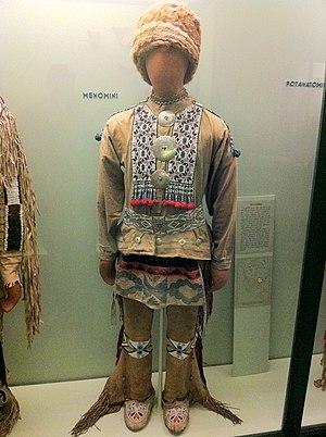 Menominee - Menomini Fashion at the Field Museum in Chicago