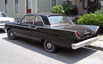 Mercury Comet - 1960 Mercury Comet two-door sedan, with its very distinct tailfins