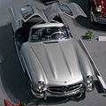 Mercedes-Benz 300SL Coupe (1955) top Toyota Automobile Museum.jpg