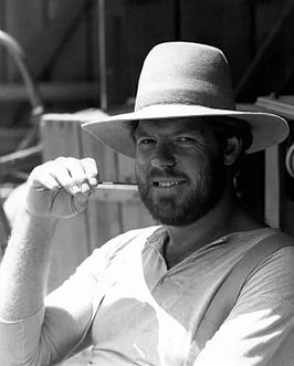 Merlin Olsen in Little House on the Prairie, 1977.