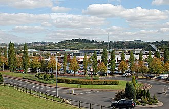 Merry Hill Shopping Centre - Image: Merry Hill Shopping Centre, Brierley Hill geograph.org.uk 1513405