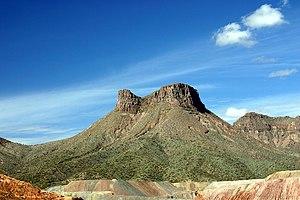 Ray mine - Teapot mesa, above Ray mine