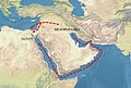 Mesopotamia-Egypt trade routes.jpg
