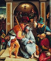 Meister von Meßkirch: Mocking of Christ