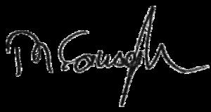 Mevlüt Çavuşoğlu - Image: Mevlüt Çavuşoğlu signature