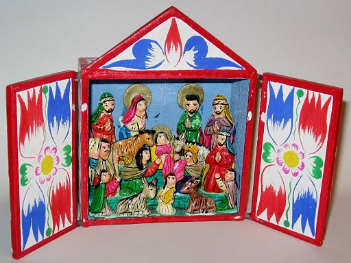 Mexican nativity scene