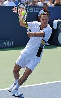 Michaël Llodra French tennis player