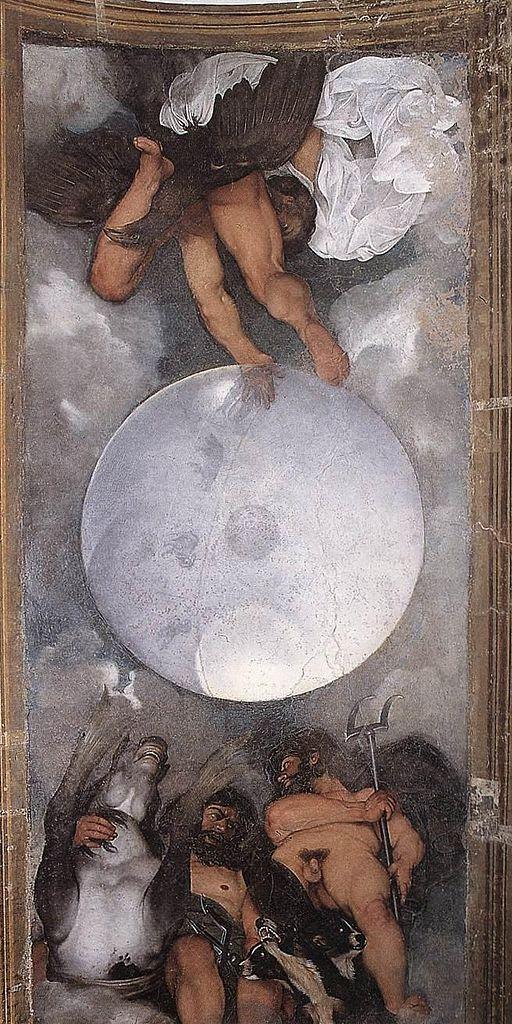 Michelangelo Merisi da Caravaggio - Jupiter, Neptune and Pluto - WGA04203