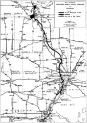 Interstate In Michigan Wikipedia - Map of us 23 in michigan