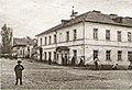 Miensk, Magazynnaja-Franciškanskaja. Менск, Магазынная-Францішканская (J. Hiermanovič, 1908).jpg