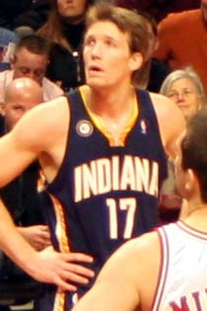 Mike Dunleavy Jr. - Dunleavy in 2009 with Indiana