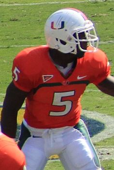 Mike James (American football) 2012.jpg