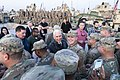 Mike Pence with the troops in Erbil Air Base.jpg