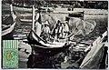 Mikiel Farrugia, Fishermen leaving to work, Gozo 1910s (postcard).jpg