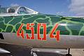 Mikoyan-Gurevich MiG-21US Mongol-B Buzz Numbers CFM 7Oct2011 (15322003851).jpg
