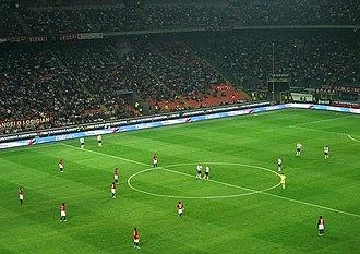 History of Parma Calcio 1913 - Parma prepare to kick off at Milan's San Siro in September 2007