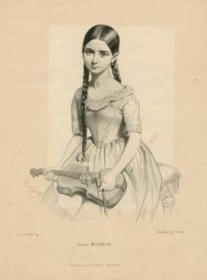 Milanollo - Teresa Milanollo in 1841