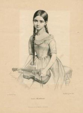 Milanollo - Teresa Milanollo in 1841