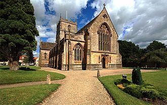 Milborne Port - Image: Milborne Port Church 1