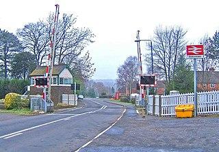 Blakedown village in United Kingdom