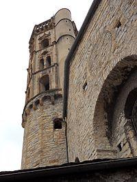 Millau église Notre-Dame de l'Espinasse détail clocher.jpg