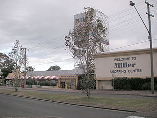 Miller, New South Wales Suburb of Sydney, New South Wales, Australia