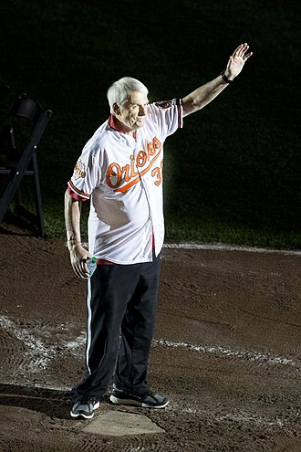 Milt Pappas - Pappas at an old-timers' appearance in 2014