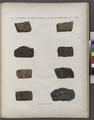 Minéralogie. Déserts situés entre le Nil et la Mer Rouge. Variétés de porphyre (NYPL b14212718-1268702).tiff