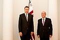 Ministru prezidents tiekas ar Azerbaidžānas ārkārtas situāciju ministru Kamaladinu Heidarovu (5775119209).jpg