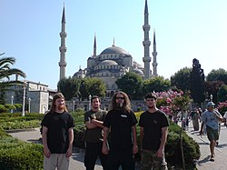 Misery Index in Istanbul während ihrer Osteuropa-Tournee 2007