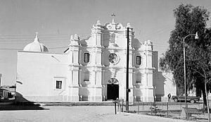 Moctezuma, Sonora - San Miguel Arcángel de Oposura, 1971
