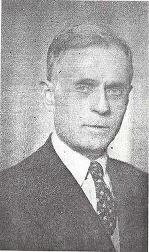 Balli Kombëtar - Midhat Frashëri was the leader of the Balli Kombëtar.