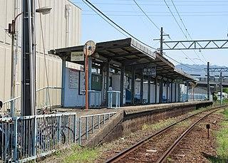 Mikayamaguchi Station Railway station in Kaizuka, Osaka Prefecture, Japan