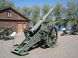 Model 1877 107 mm siege gun Hameenlinna.JPG