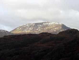 Moel Hebog - Moel Hebog, seen from the south
