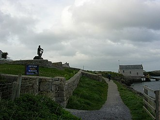 Moelfre, Anglesey - The Lifeboat station and Seawatch Centre