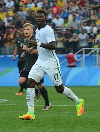 Mohammed Usman (footballer, born 1994) - Usman at the 2016 Olympics