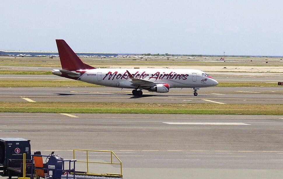 Mokulele Airlines E170 HNL N870RW