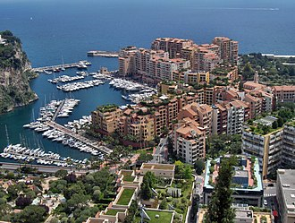 Outline of Monaco - Fontvieille